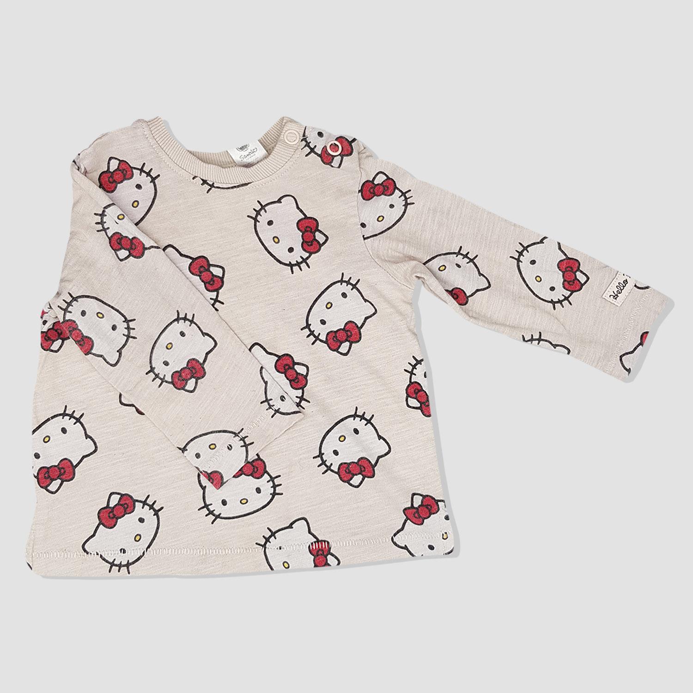 9cb25cd46e24a Sweat shirt beige HELLO KITTY bébé fille